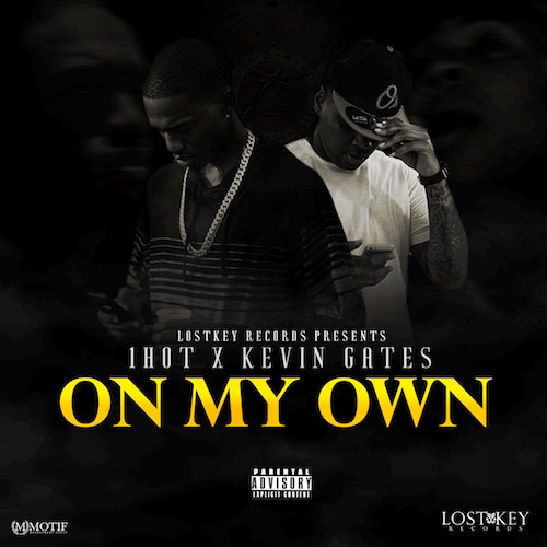 1Hot ft  Kevin Gates – On My Own (Instrumental) (Prod  by